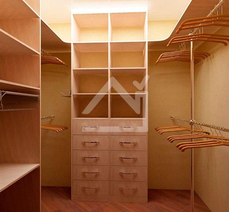 Гардеробная комната - мечта любой женщины!.